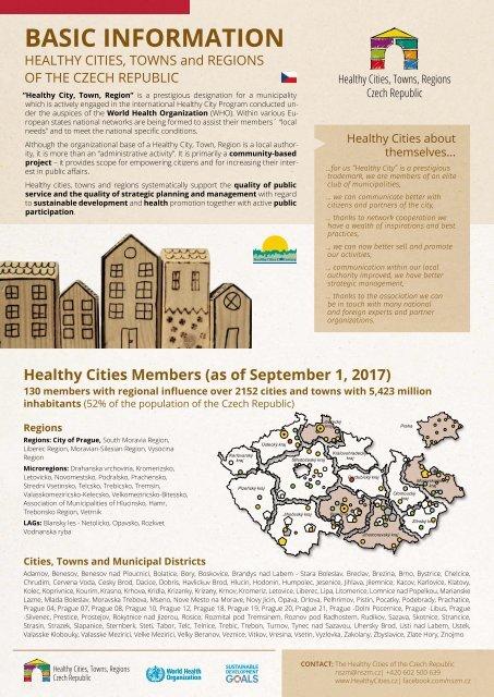 Basic information on the HCCZ - leaflet