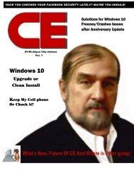 CE 1st edition Magazine