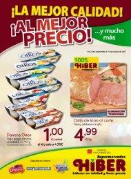 Folleto Supermercados Hiber del 28 de Septiembre al 15 de Octubre 2017