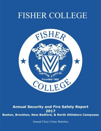 Annual Security and Fire Safety Report - 2017