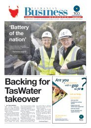 Tasmanian Business Reporter October 2017