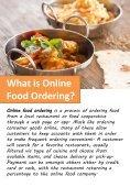 Online Food Ordering - Page 2