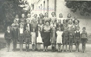 Alte Ansichten - 3. Klasse VS St. Stefan - 1953-1954