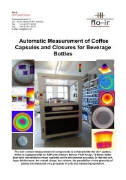 Automatic Measurement Of Coffee Capsules
