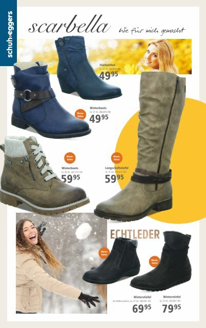 Schuh Eggers TRENDSCHUHE: Stiefel