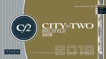 CITYforTWO BIELEFELD   Limitierte Ausgabe 2018