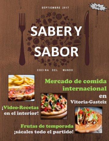 Revista Saber y Sabor (prueba 2)