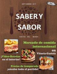 Revista Saber y Sabor (prueba 3)