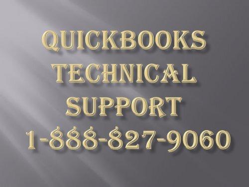Quickbooks Customer Support 1-888-827-9060