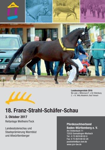 Landesstutenschau Weilheim - 18. Franz-Strahl-Schäfer-Schau