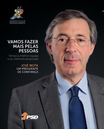 Manifesto Eleitoral | José Mota, um Presidente de Confiança