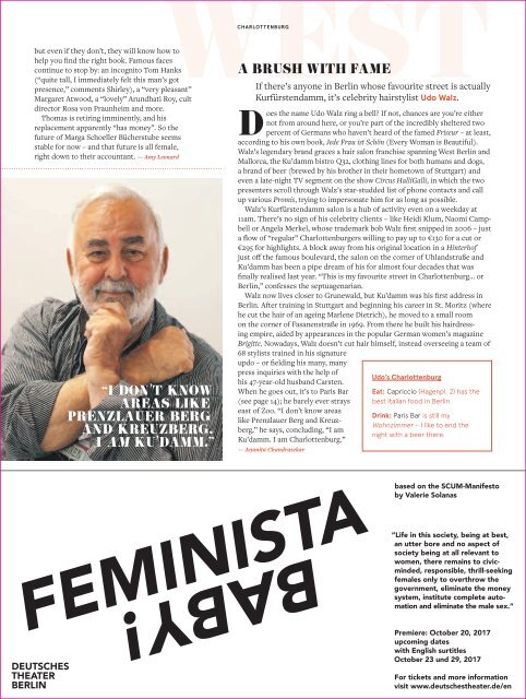 EXBERLINER Issue 164, October 2017