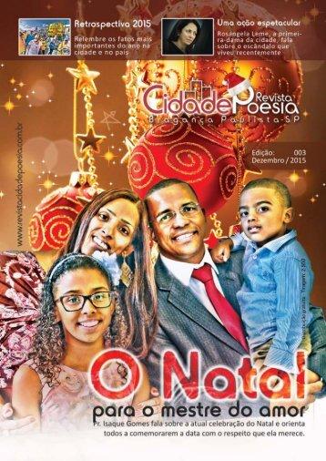 Revista Cidade Poesia - Edição: 003