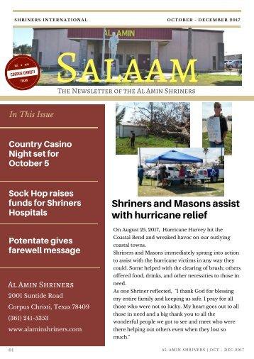 SALAAM OCT - DEC 2017