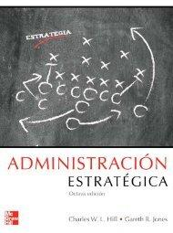 Administracion Estrategica - Hill - 8 edición