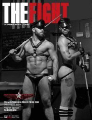 THE FIGHT SOCAL'S LGBTQ MONTHLY MAGAZINE OCTOBER 2017