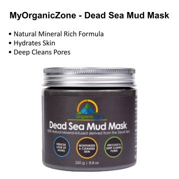 Dead Sea Mud Mask Reviews & Benefits, Mud Mask for Acne Treatment
