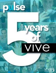 October Pulse | VIVE Health & Fitness
