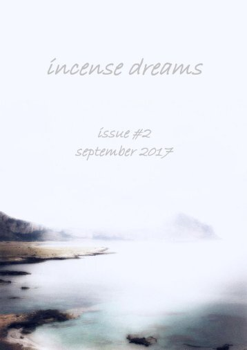 Incense  dreams Journal - ISSUE 2nd - DREAM