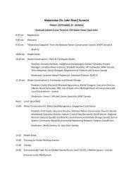 River Summit 2017 Agenda