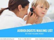 Audiologists Mailing List