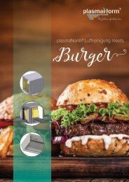plasmaNorm® meets Burger