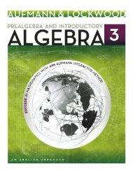 Pre-Algebra An Introduction