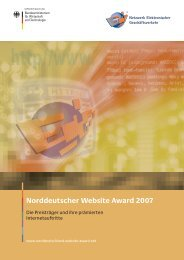 Norddeutscher Website Award 2007