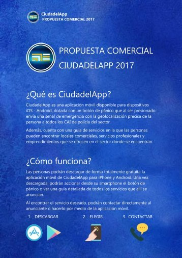 CiudadelApp propuesta comercial
