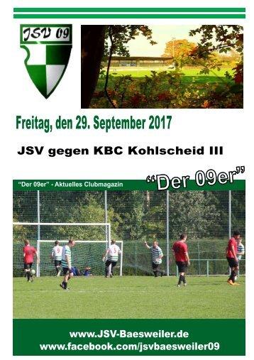 JSV Zeitung Textteil 29.09.2017 Komplett