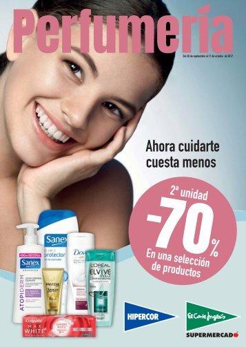 Catálogo El Corte Inglés Perfumeria del 28 de Septiembre al 11 de Octubre 2017