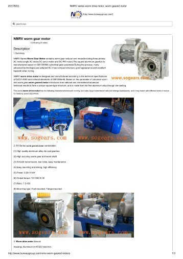C Series Mgs Adjustable Speed Drive Selection Data