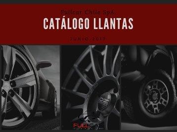 Catálogo LLantas 2017