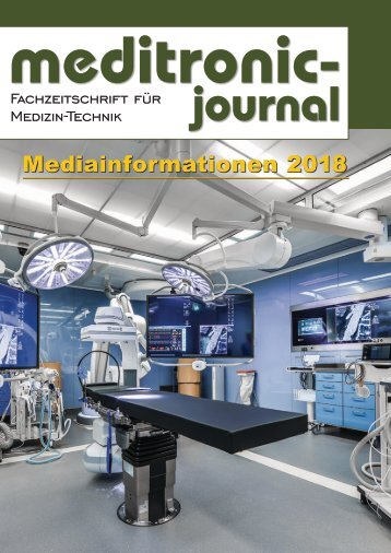 meditronic-journal - Mediaunterlagen 2018