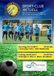 SPORT-CLUB AKTUELL - SAISON 17/18 - AUSGABE 5