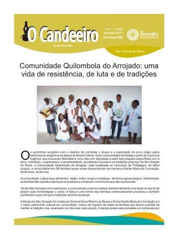 Comunidade Quilombola do Arrojado: uma vida de resist?ncia, de luta e de tradi?es