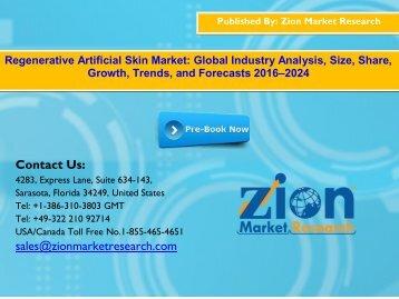 Global Regenerative Artificial Skin Market, 2016–2024