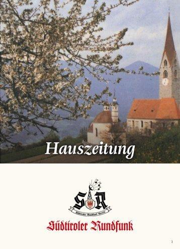 Hauszeitung des Südtiroler Rundfunk (2017/9)