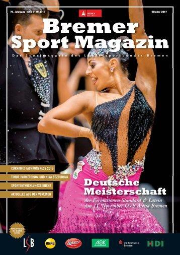 BREMER SPORT Magazin | Oktober 2017