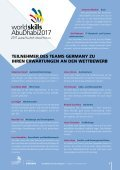 WorldSkills Germany Magazin - Ausgabe 9 - September 2017 - Page 4