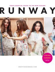 Creative HEAD Runway Spring/Summer 2016