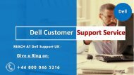 Dell SUpport Number UK