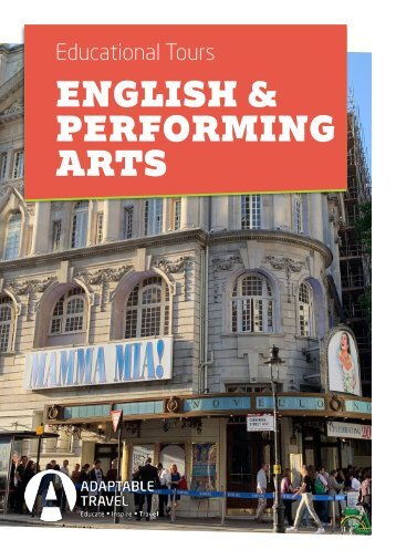 Our most popular English & Performing Arts School Trips