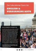 Our most popular English & Performing Arts School Trips - Page 2