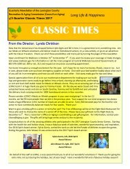 Classic Times Newsletter 2017 Q4