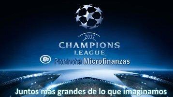 PREMIACIÓN CHAMPIONS FASE 2