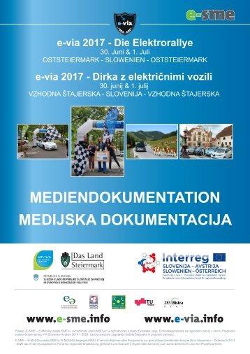 Mediendokumentation e-via 2017 - Die Elektrorallye