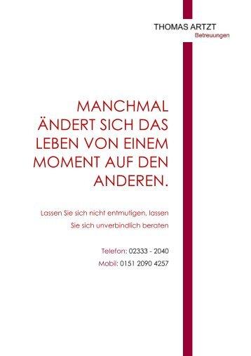 Flyer-Allgemein - Thomas Artzt Betreuungen