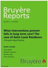 Falls Intervention RSL - Long summary 20160331