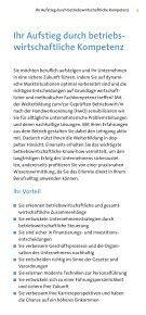 Broschüre Geprüfter Betriebswirt 2017 - Seite 3